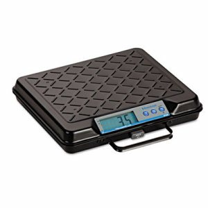 Portable Electronic Utility Bench Scale, 250lb Capacity, 12 x 10 Platform