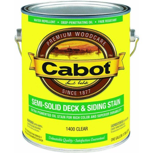 1-Gallon Clear Deck Stain