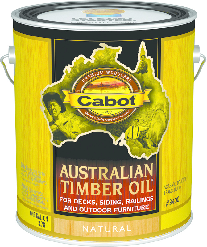 01-3400 1 Gallon Natural Australian Timber Oil
