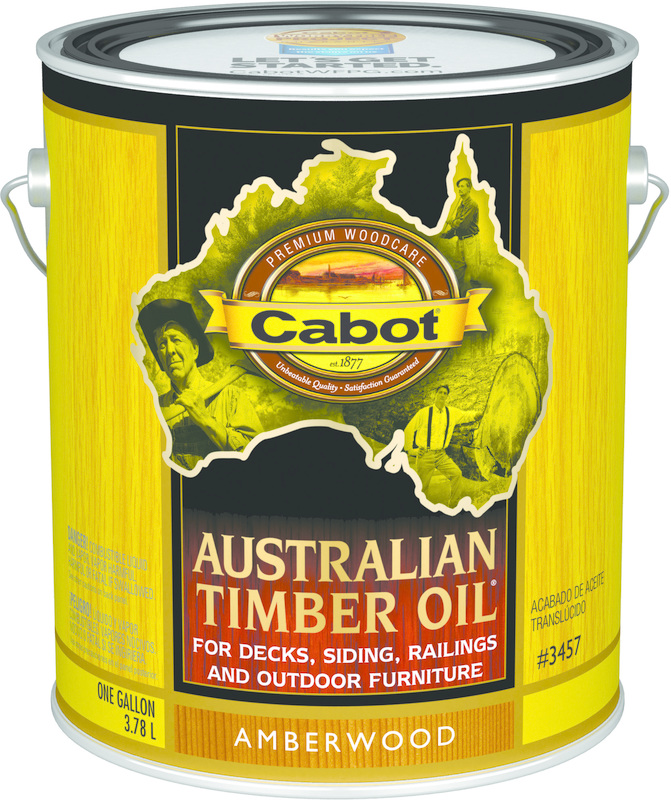 01-3457 1 GALLON AMBER AUSTRALIAN TIMBER OIL