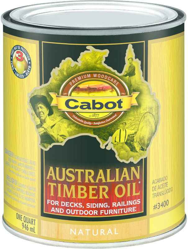 04-3400 QT NAT AUST TIMBER OIL