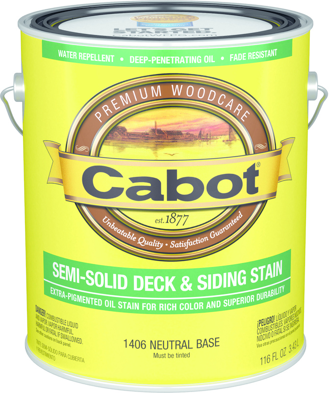 01-1406 1 Gallon Neutral Base Deck Stain