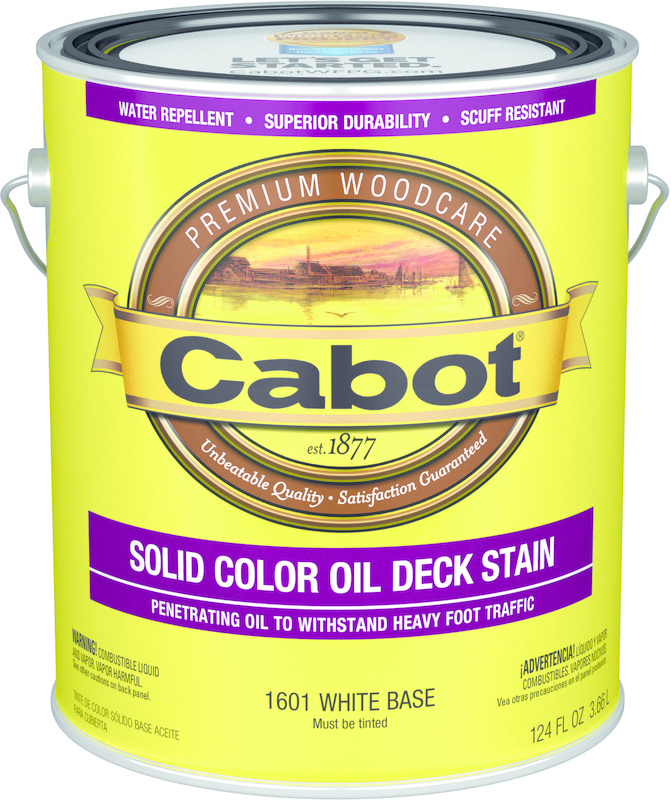 01-1601 1 Gallon White Oil Deck Stain