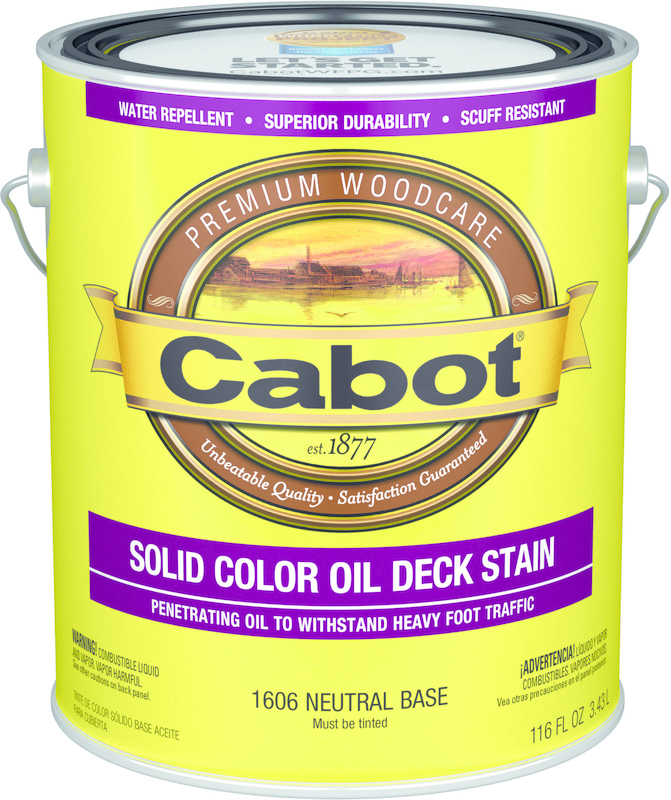 01-1606 1 Gallon Neutral Oil Deck Stain