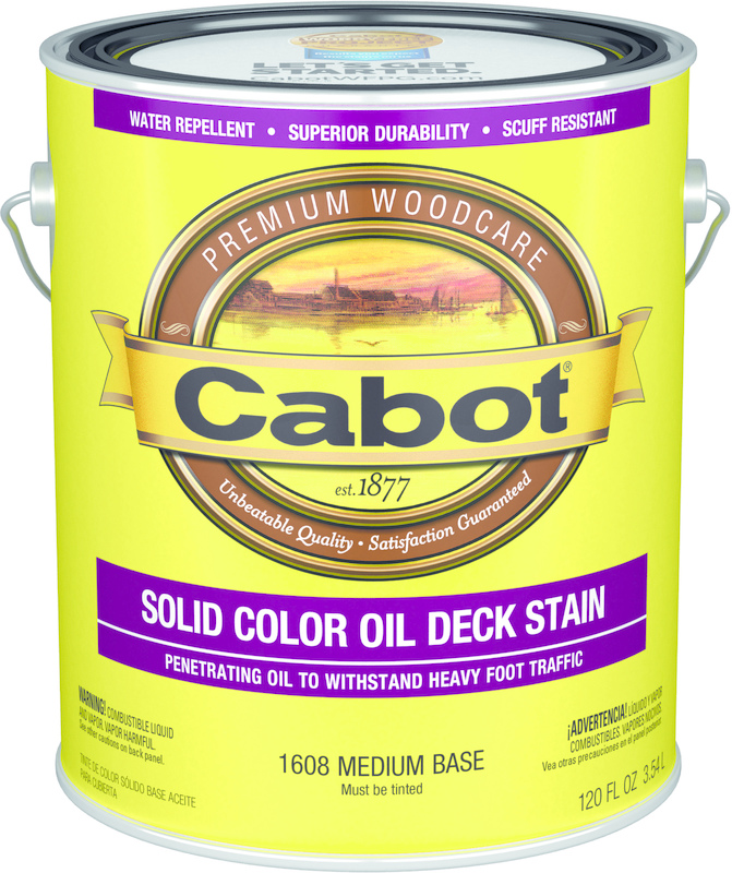 01-1608 1 Gallon Medium Oil Deck Stain