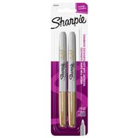 Sharpie 1823813 Permanent Marker, Gold, Fine, Liquid