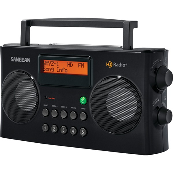 Sangean HDR-16 AM/FM HD Portable Radio