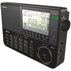 SANGEAN ATS-909X-BK Professional Multiband AM/FM/SW Receiver (Black)