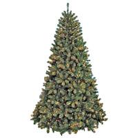 TREE 12FT PRELIT CLR NOBLE FIR
