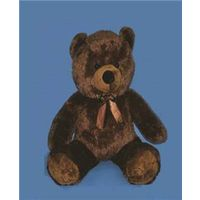 Santas Forest 28948 Plush Teddy Bear, 48 in H, Polyester