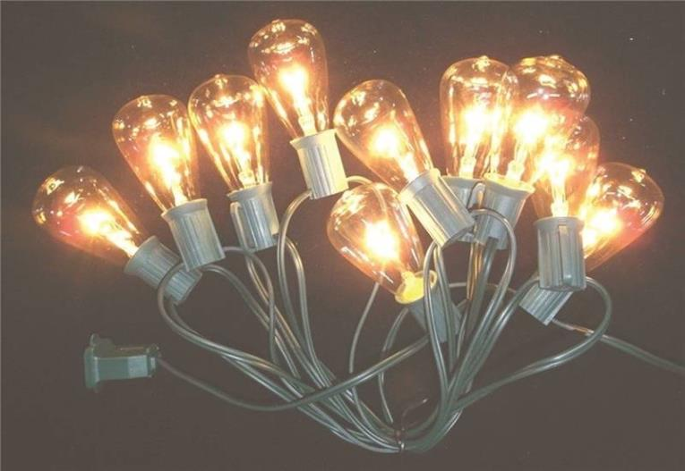 LIGHT SET MULTI 10CT VINTAGE