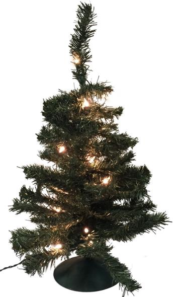 TREE 24IN PRELIT TILLAMOOK FIR