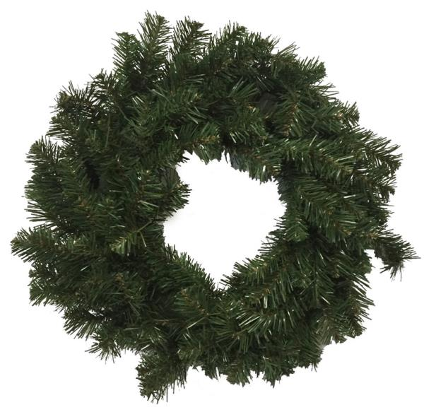 WREATH 24IN SHEARED NOBLE FIR