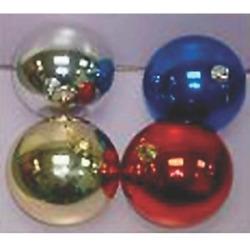 BALLS ASST CLR 12PC 30MM