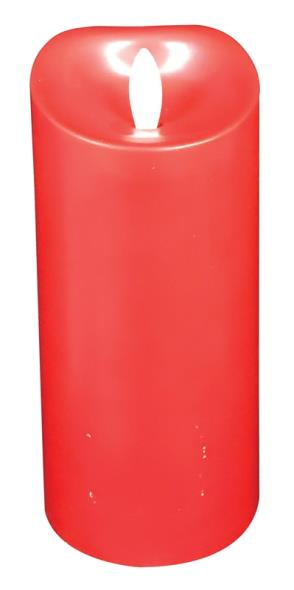 CANDLE D/F RED CINNAMON 7IN