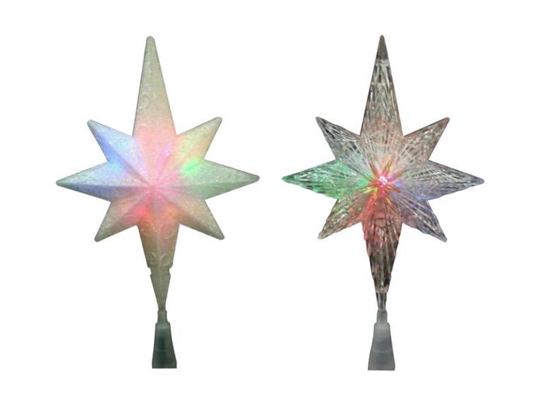 STAR BETHLEHM CLR CHG LED 11IN