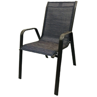 CHAIR SLING 2TONE STACKABLE