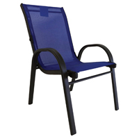 CHAIR KIDS BELVEDERE BLUE 14IN