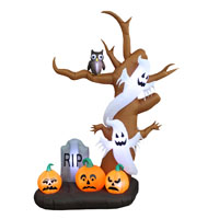 INFLATABLE 9FT SPOOKY TREE