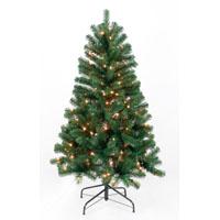 TREE 7FT PRELIT CLR ALPINE FIR