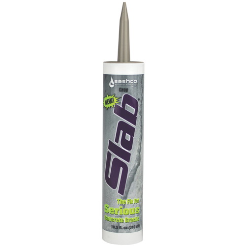 SLAB� CONCRETE CRACK REPAIR SEALANT, 10.5 OZ., GRAY