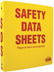 SAS SAFETY� SDS COMPLIANCE BINDER, 1.5 IN.