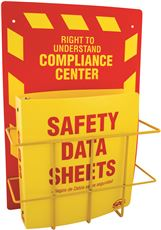 SAS SAFETY� SDS RIGHT-TO-UNDERSTAND COMPLIANCE CENTER, WALL MOUNTABLE