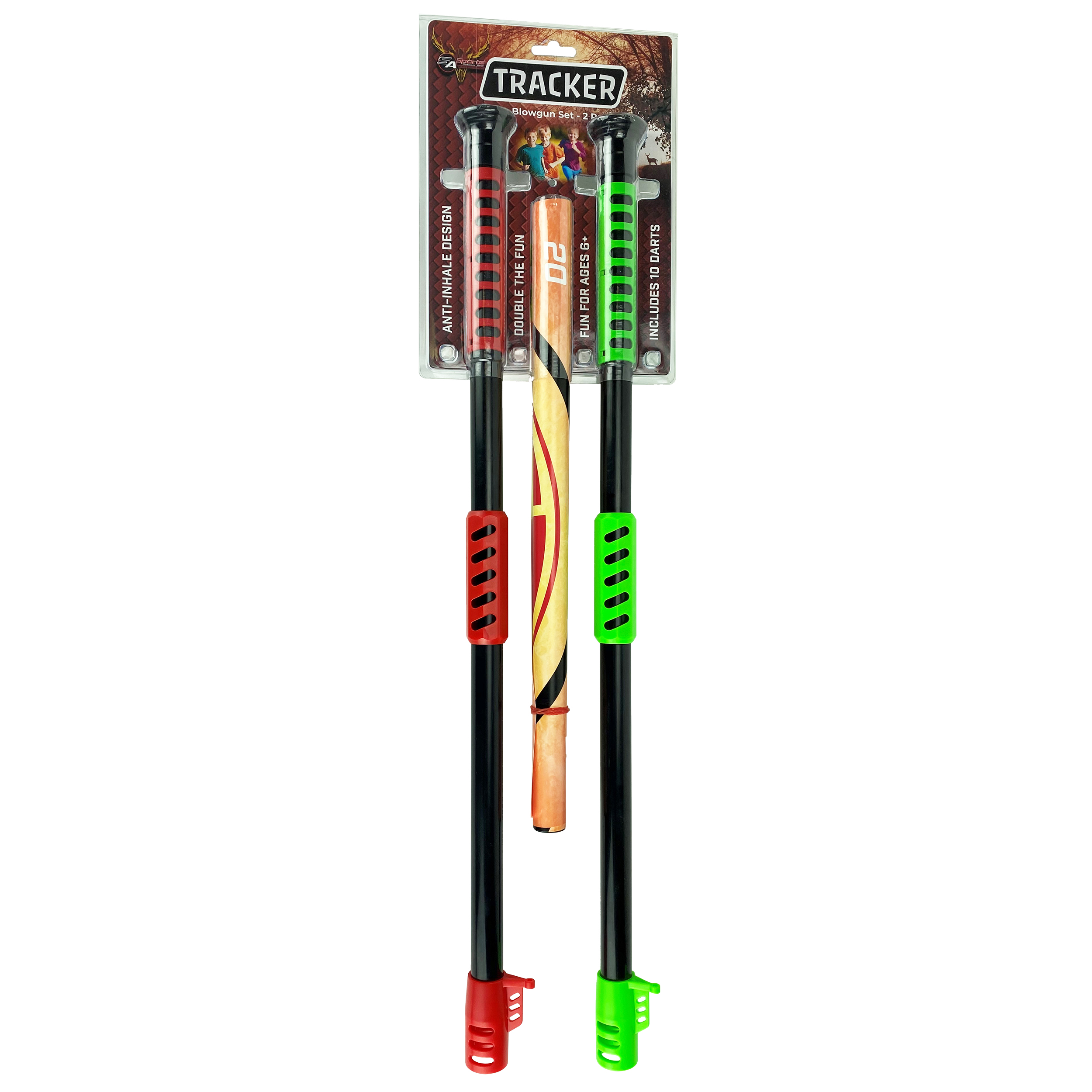 SA Sports Tracker Blowgun Pair with 10 suction Darts