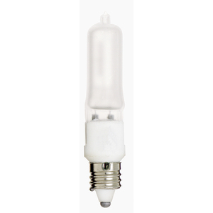 100 Watts T4 E11 Minican Halogen 120 Volts Frosted