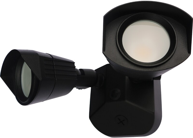 65-220 LED BLK SECURITY LIGHT