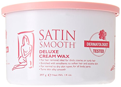 SATIN SMOOTH SSW14CRG WAX DELUXE CREAM IS A DELICATE CREAMY