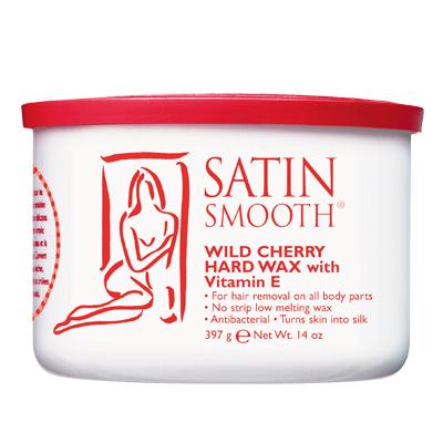 SATIN SMOOTH SSW14CHG WILD CHERRY HARD WAX WITH VITAMIN E