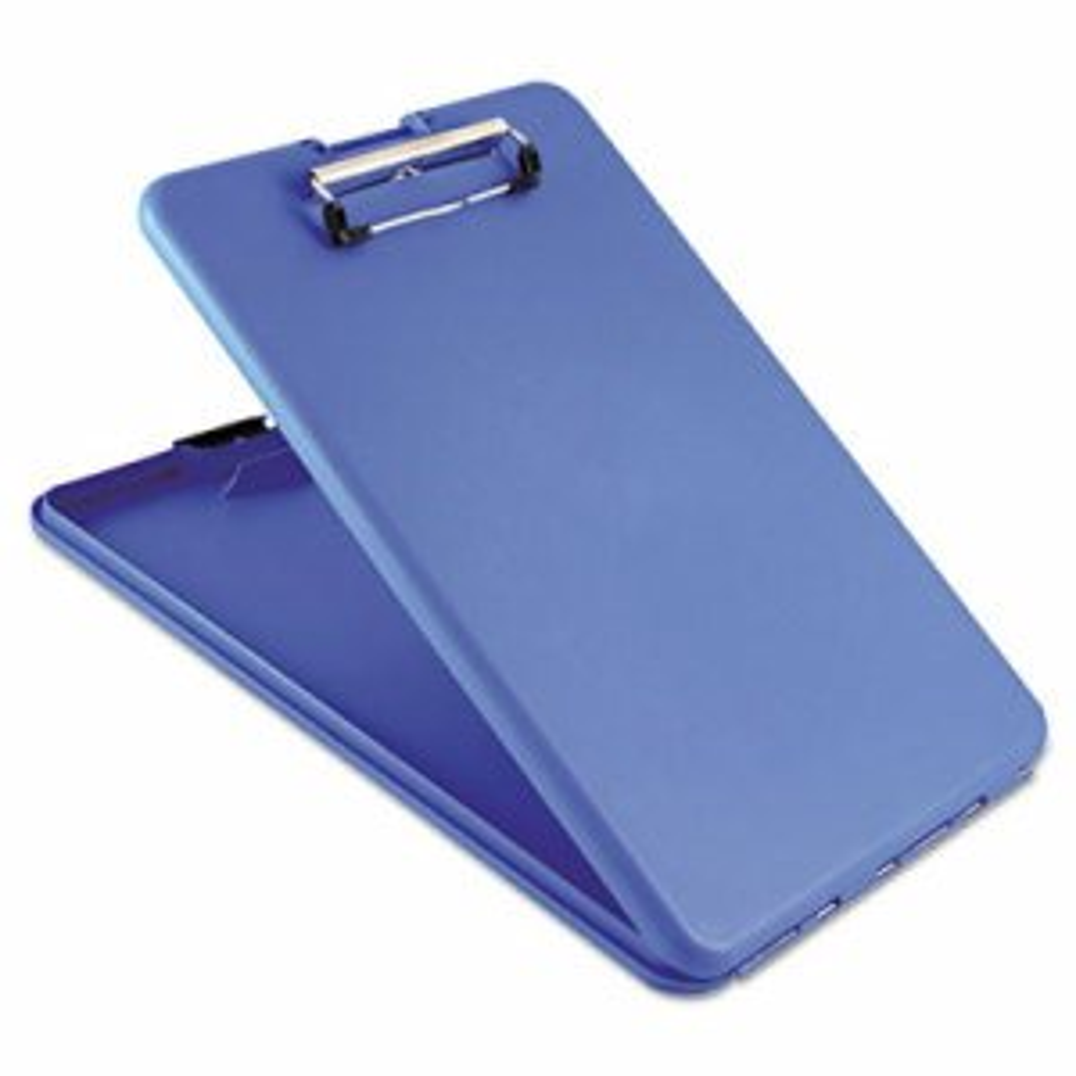 "SlimMate Storage Clipboard, 1/2"" Clip Cap, 8 1/2 x 11 Sheets, Blue"