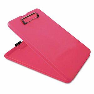 """SlimMate Portable Desktop, 1/2"""" Clip Cap, 8 1/2 x 11 Sheets, Pink"""