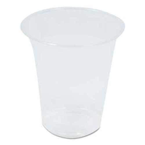 Compostable PLA Corn Plastic Cold Cups, 12oz, Clear, 1000/Carton