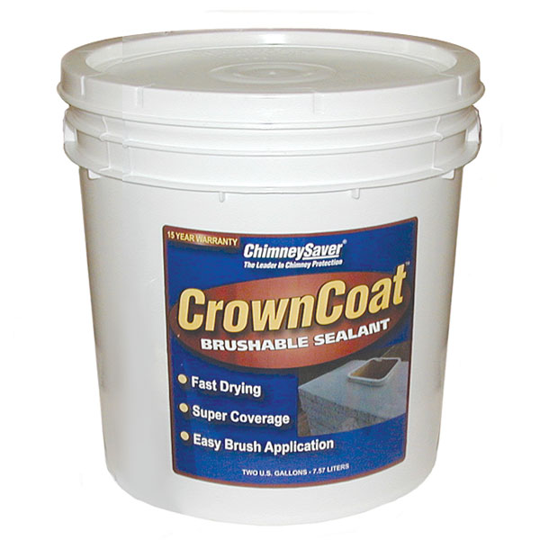 CrownCoat Brushable Water Sealant, 5-gallon (covers 40 sq. ft. Per Gallon)
