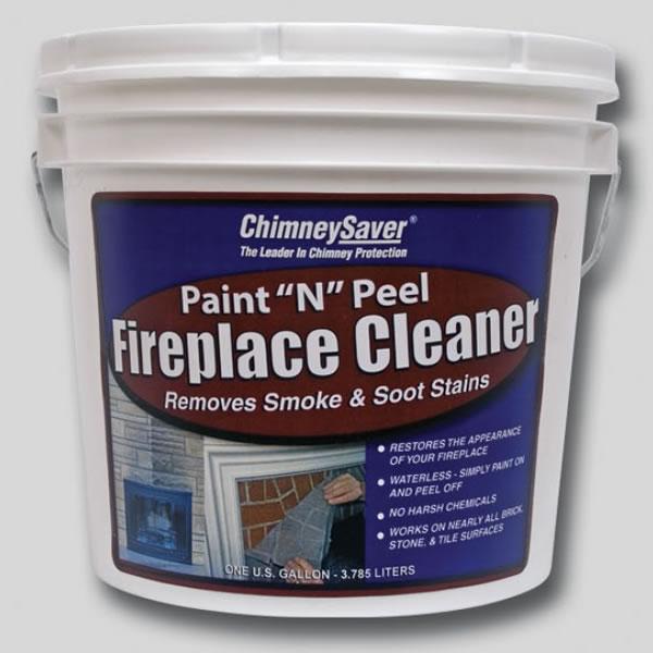 "1 Gallon of ChimneySaver Paint ""N"" Peel Fireplace Cleaner - CS-PP - 300441"