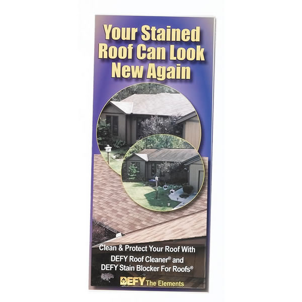 Roof Cleaning Brochures, Pack Of 100