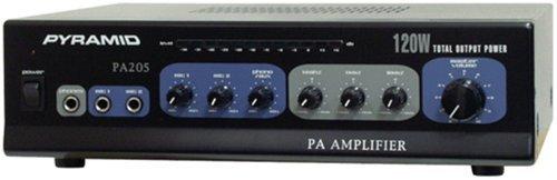 AMPLIFIER PYRAMID DJ STYLE 120WATT W/MIC INPUT