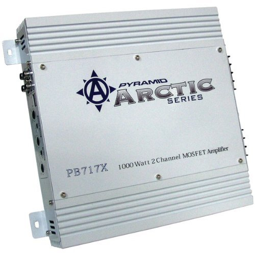 AMPLIFIER PYRAMID 1000WATT 2 CHANNEL;ARCTIC SERIES