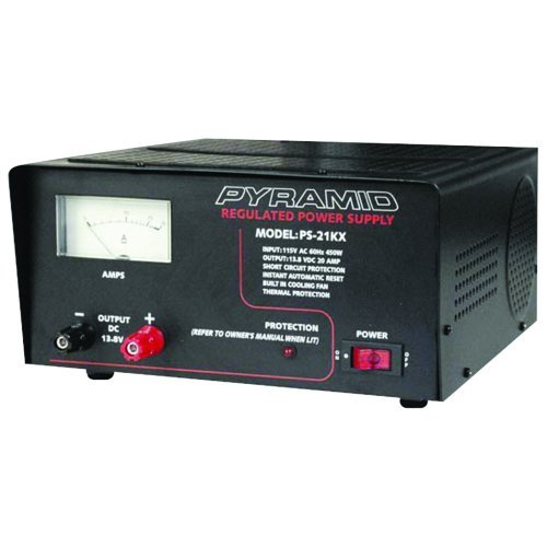 POWER SUPPLY PYRAMID 20 AMP W/COOLING FAN