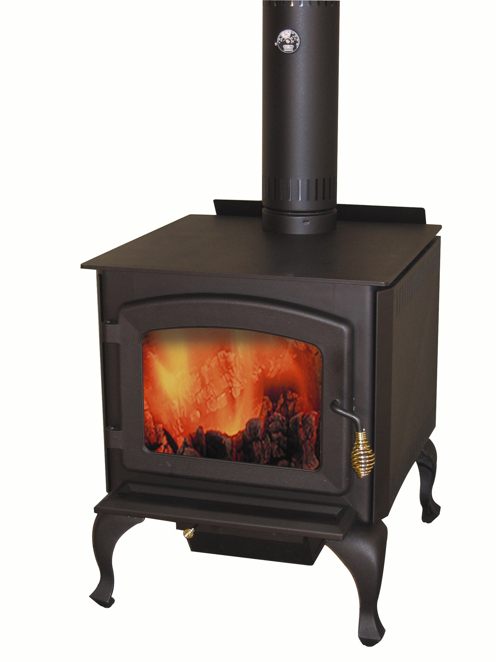 Wood Stove on Legs Model LEGEND with Blower Included