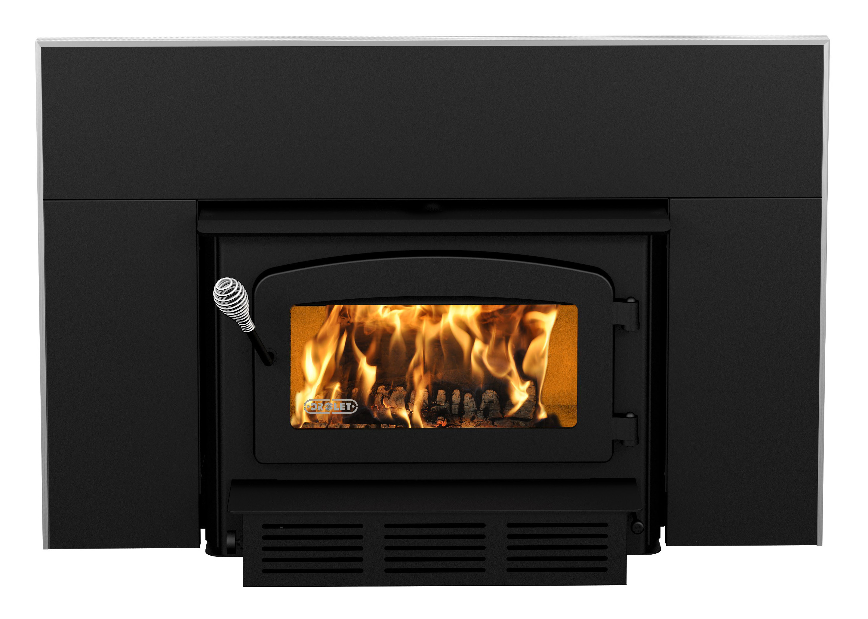 Drolet Fireplace Wood Insert, Escape 1500 with Blower Included