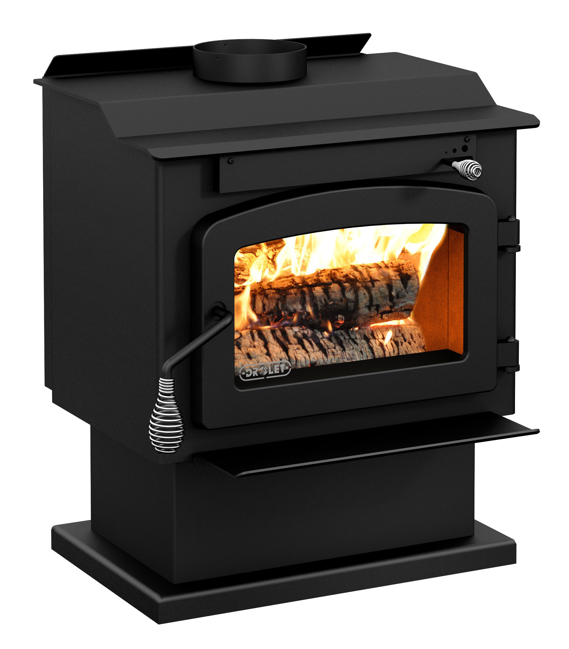 Wood Stove on Pedestal Model PYROPAK