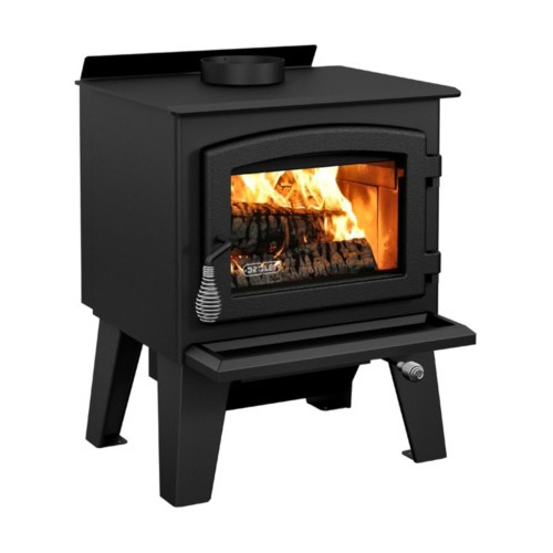 Wood Stove On Legs Model Eldorado With Blower Included