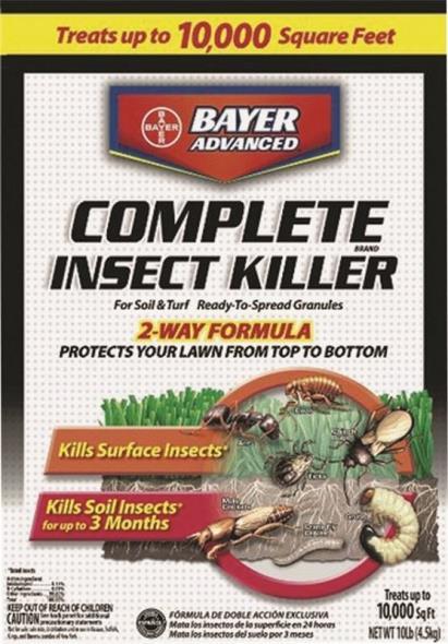 INSECT KILLER LAWN GRANUAL10LB