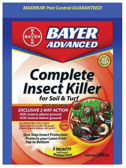 INSECT KILLER LAWN DSPLY 10LB