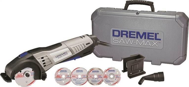 Dremel Saw-Max Circular Corded Saw Kit, 120 V, 6 A