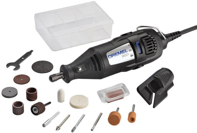 Dremel 200 2-Speed Corded Rotary Tool, 120 V, 15000 or 35000 rpm