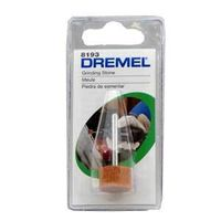 Dremel 8193 Grinding Stone, 5/8 X 3/8 in Dia, 1/8 in Shank, Cylinder